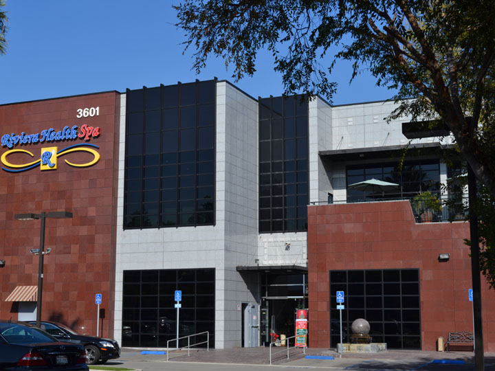 Health Spa Building In Torrance Ca